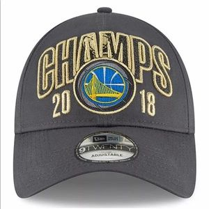 Golden State Warriors 2018 Champs Adjustable Hat